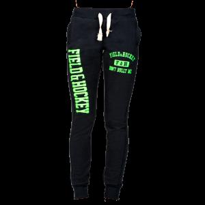 Sweatpants (navy/lime)